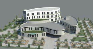 طرح معماری 4 پروژه طراحی بیمارستان 00636