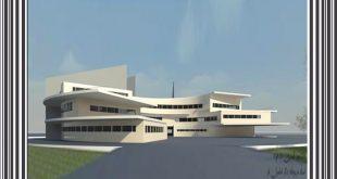 طرح معماری 4 پروژه طراحی بیمارستان 00637