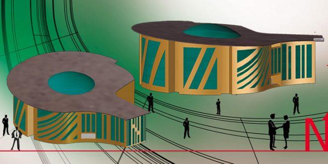 طرح معماری 2 پروژه طراحی پاساژ تجاری 008110