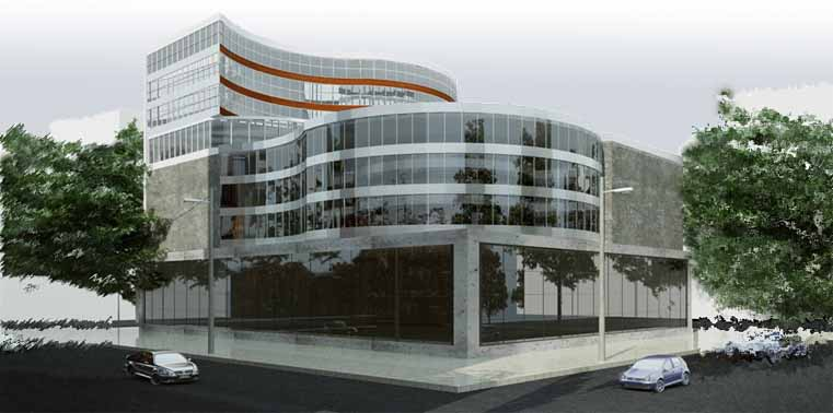 طرح معماری 2 پروژه طراحی پاساژ تجاری 00813