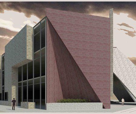 طرح معماری 2 پروژه طراحی پاساژ تجاری 00814