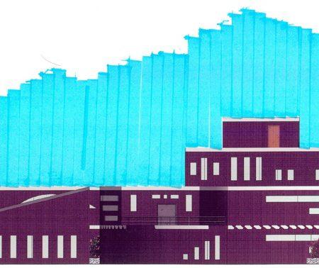 طرح معماری 2 پروژه طراحی پاساژ تجاری 00816