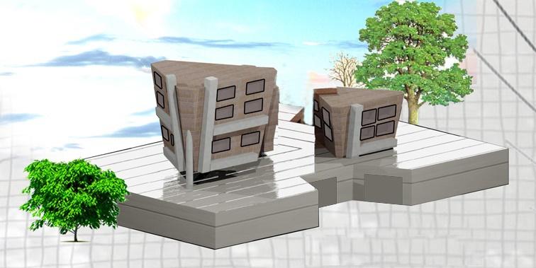 طرح معماری 2 پروژه طراحی پاساژ تجاری 00819