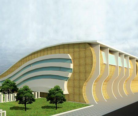 طراحی دانشکده هنر معماری ایران اسلامی