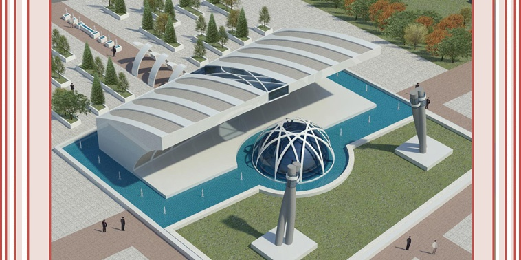 طرح معماری ارشد طراحی مسجد دانشگاه