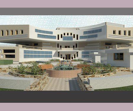 طرح نهایی مرکز آموزش عالی معماری