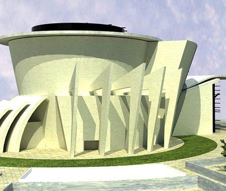 طرح معماری ارشد ساختمان کمک اموزشی