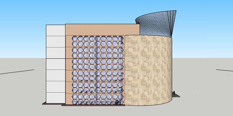 پروژه دانشکده معماری تحصیلات تکمیلی