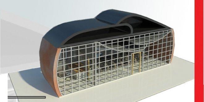 مقدمات طراحی معماری ایستگاه اتوبوس 01211