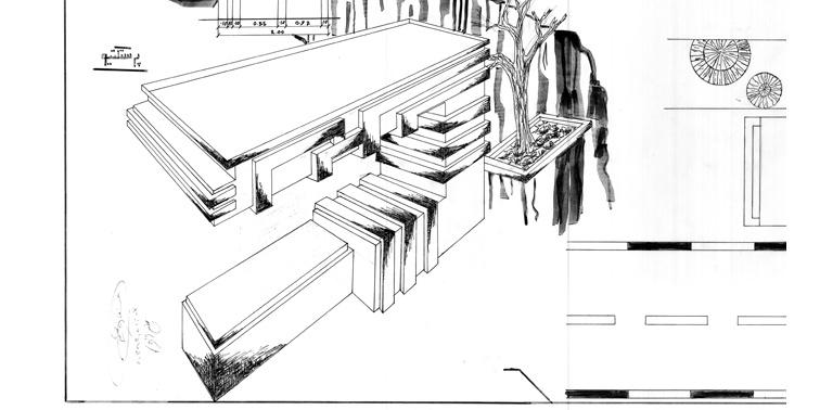 مقدمات طراحی معماری ایستگاه اتوبوس 0123