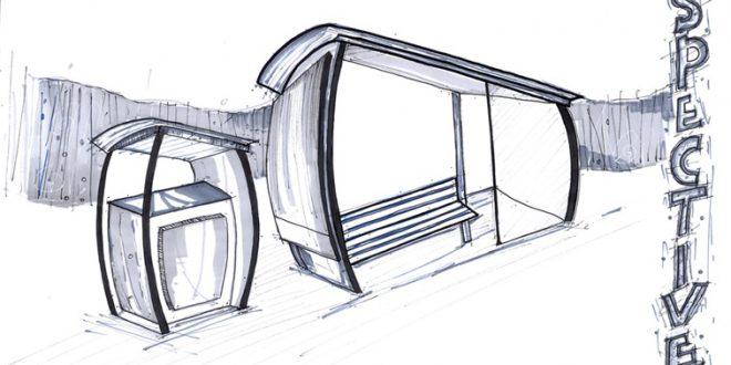 کارگاه مصالح و ساخت ایستگاه اتوبوس 01110