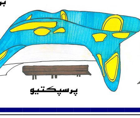 کارگاه مصالح و ساخت ایستگاه اتوبوس 01113