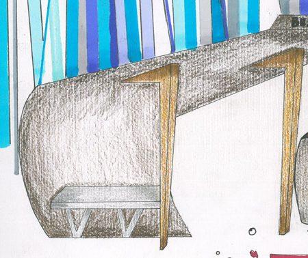 کارگاه مصالح و ساخت ایستگاه اتوبوس 01121