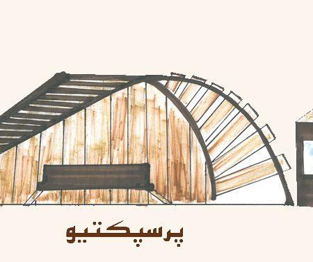 کارگاه مصالح و ساخت ایستگاه اتوبوس0113