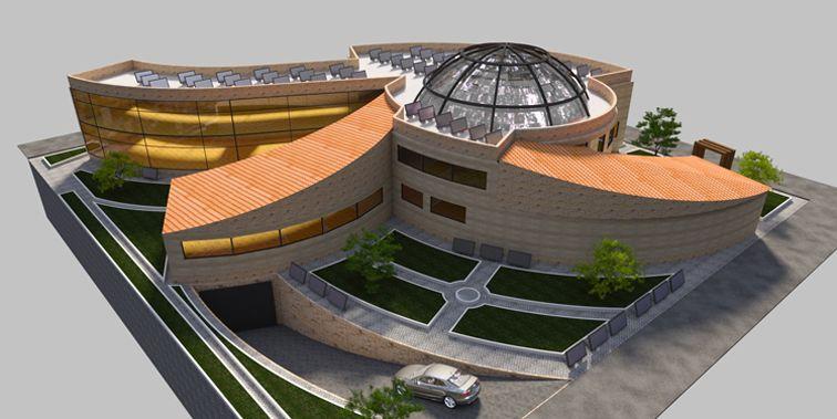 مرکز خرید نطنز رویکرد معماری اکوتک